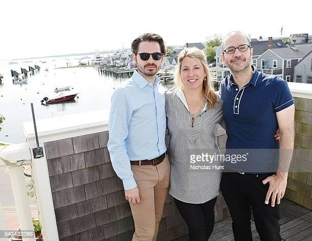 Nantucket Film Festival Producer Bill Curran Excutive Director of Nantucket Film Festival Mystelle Brabbee Nantucket Film Festival Program Director...