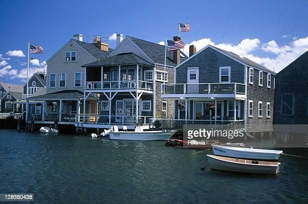 nantucket island, massachusetts - nantucket stock pictures, royalty-free photos & images