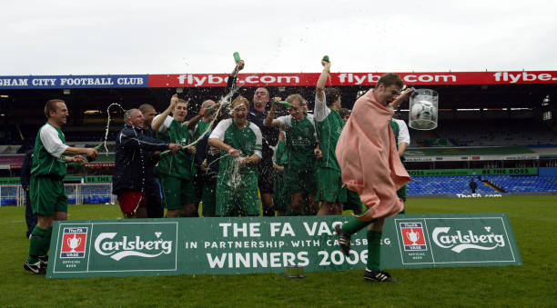 Soccer The Fa Vase Final Hillingdon Borough Town V Nantwich