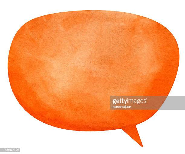 nanuk orange speech globe - animation stock pictures, royalty-free photos & images
