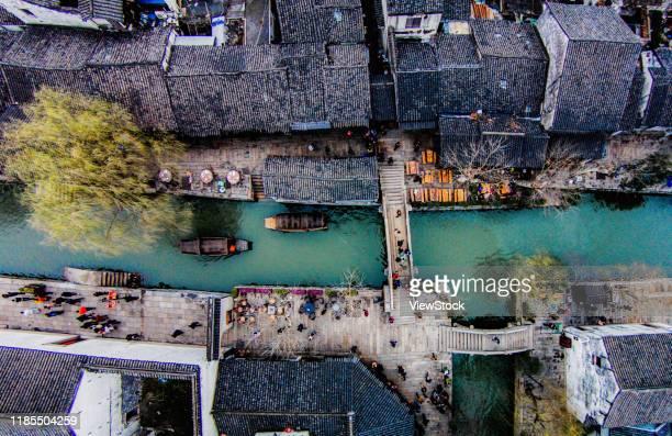 nanxun town, huzhou city in zhejiang province - zhejiang province stock pictures, royalty-free photos & images