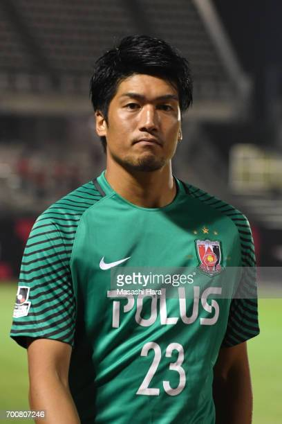 Nao Iwadate of Urawa Red Diamonds looks on after the 97th Emperor's Cup second round match between Urawa Red Diamonds and Gurlla Morioka at Urawa...