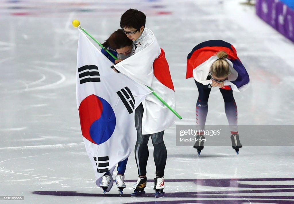 Speed Skating - Winter Olympics Day 9 : News Photo