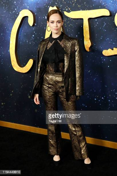 Naoimh Morgan attends the world premiere of Cats at Alice Tully Hall Lincoln Center on December 16 2019 in New York City