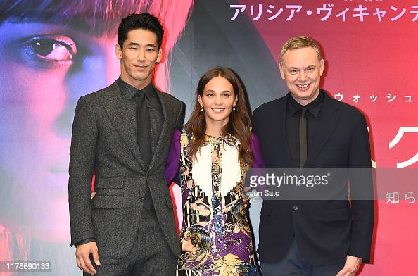 Naoki Kobayashi Alicia Vikander And Director Wash Westmoreland News Photo Getty Images
