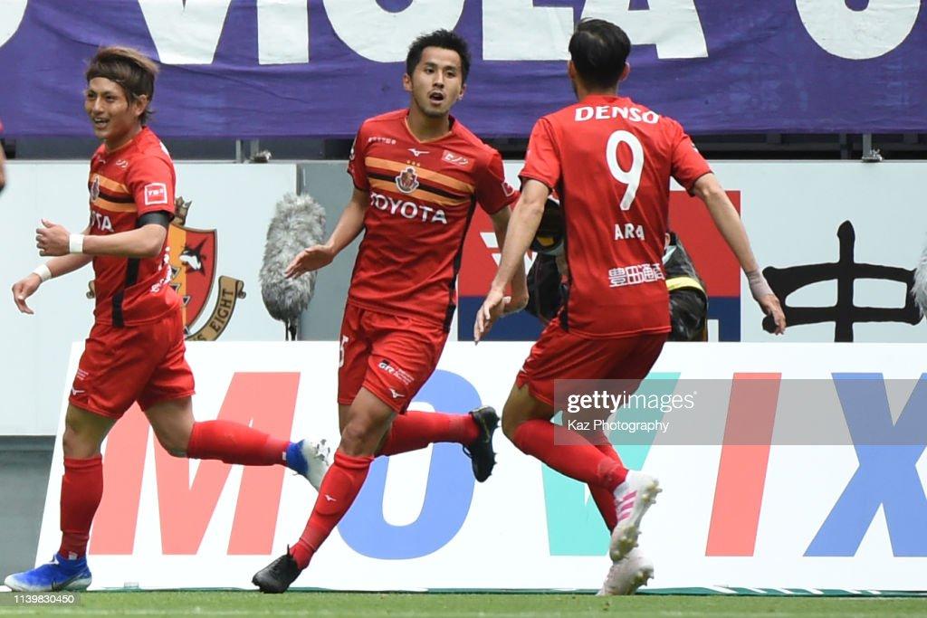 Nagoya Grampus v Sanfrecce Hiroshima - J.League J1 : ニュース写真