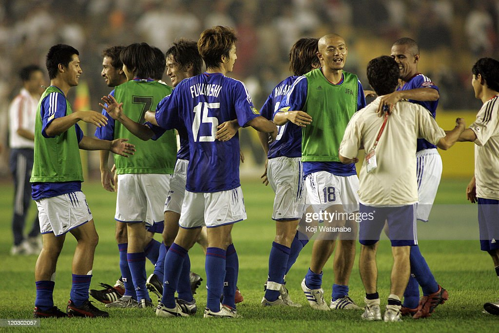 Japan v China - Asia Cup 2004 Final : ニュース写真