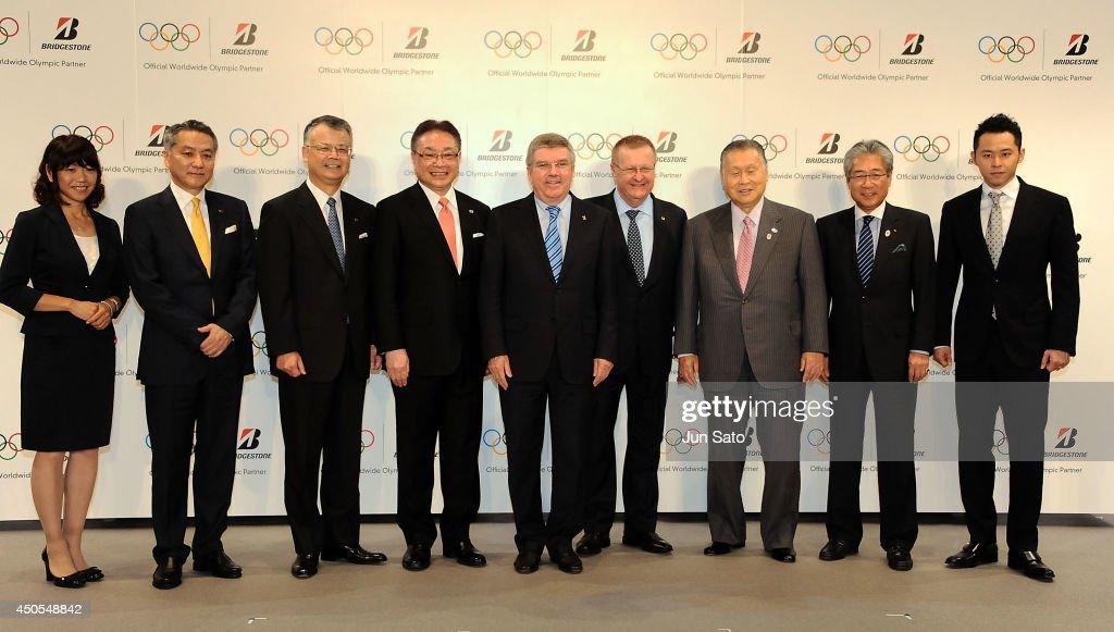 Bridgestone Announces Its Partnership With IOC : News Photo