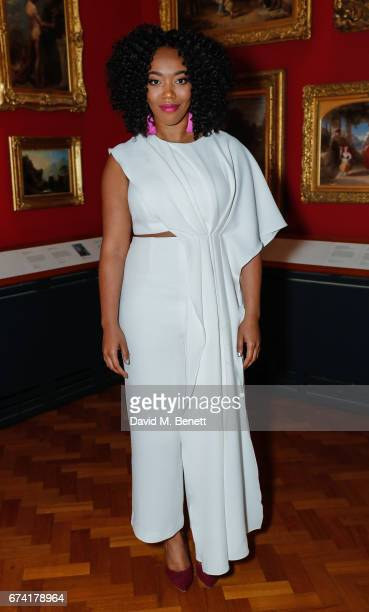 Naomi Ackie attends a special screening of Lady Macbeth at The VA on April 27 2017 in London England
