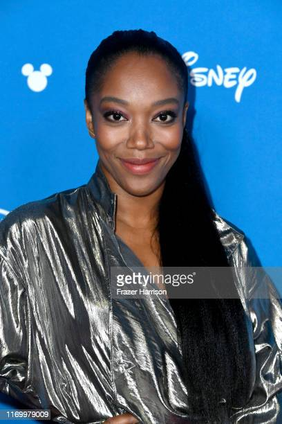 Naomi Ackie attends Go Behind The Scenes with Walt Disney Studios during D23 Expo 2019 at Anaheim Convention Center on August 24 2019 in Anaheim...