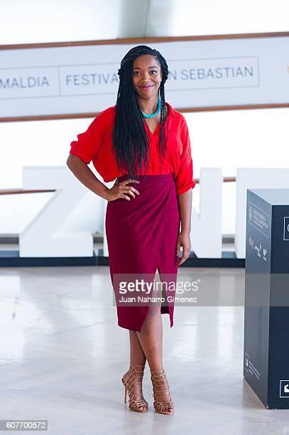 Naomi Ackie attends 'Lady Macbeth' photocall during 64th San Sebastian Film Festival at Kursaal on September 19 2016 in San Sebastian Spain
