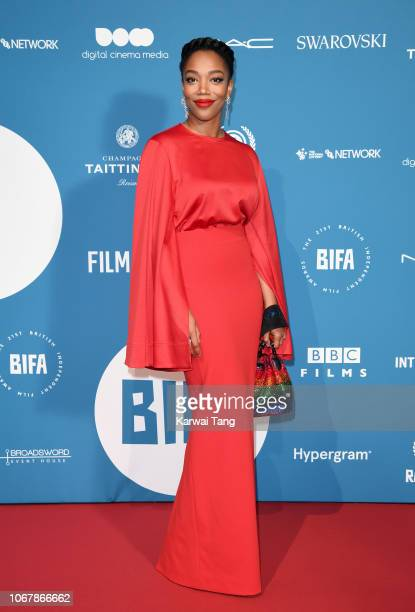 Naomi Ackie attends the 21st British Independent Film Awards at Old Billingsgate on December 2 2018 in London England
