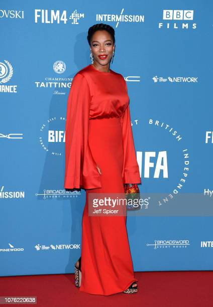 Naomi Ackie attends the 21st British Independent Film Awards at Old Billingsgate on December 02 2018 in London England