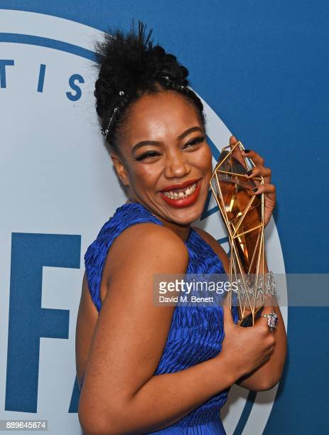 Naomi Ackie attends the British Independent Film Awards held at Old Billingsgate on December 10 2017 in London England