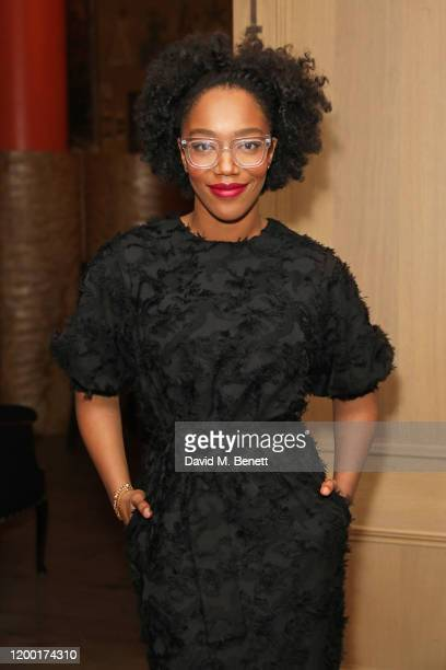 Naomi Ackie attends The Casting Awards 2020 at The Ham Yard Hotel on February 11 2020 in London England