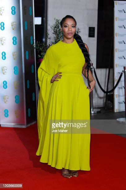 Naomi Ackie attends the EE British Academy Film Awards 2020 After Party at The Grosvenor House Hotel on February 02, 2020 in London, England.
