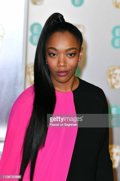 Naomi Ackie attends the EE British Academy Film Awards at Royal Albert Hall on February 10 2019 in London England