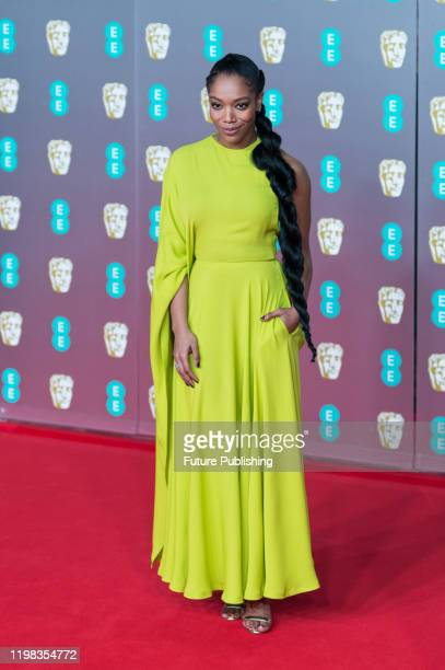 Naomi Ackie attends the EE British Academy Film Awards ceremony at the Royal Albert Hall on 02 February, 2020 in London, England.- PHOTOGRAPH BY...