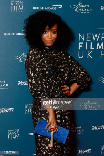 Naomi Ackie attends the Newport Beach Film Festival UK honours event at The Langham Hotel on February 07 2019 in London England