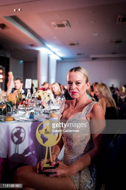 Naomi Adams attends the Inaugural 'World Bloggers Awards' during the 72nd annual Cannes Film Festival on May 24 2019 in Cannes France The 'World...