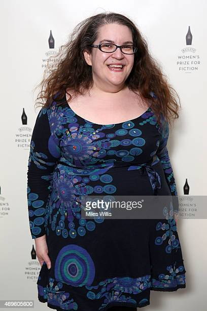 Naomi Alderman celebrates the Baileys Women's Prize for Fiction 2015 Shortlist announcement at The Magazine restaurant Serpentine Sackler Gallery on...