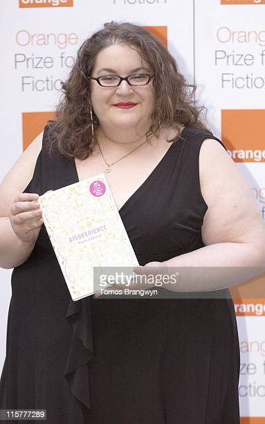 Naomi Alderman during The Orange Prize for Fiction 2006 June 6 2006 at The Royal Courts of Justice in London Great Britain
