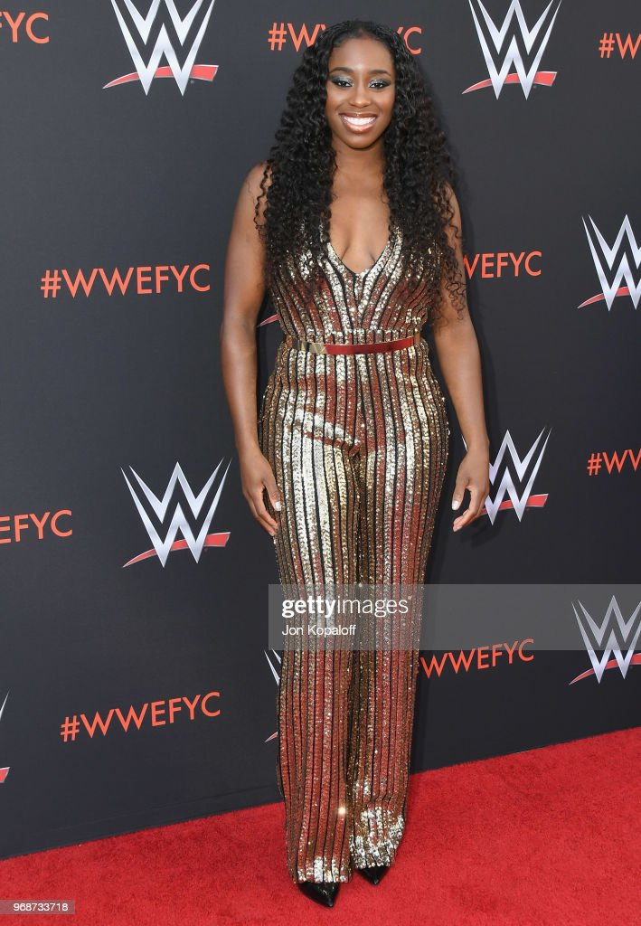 Naomi attends WWE's First-Ever Emmy 'For Your Consideration' Event at Saban Media Center on June 6, 2018 in North Hollywood, California.
