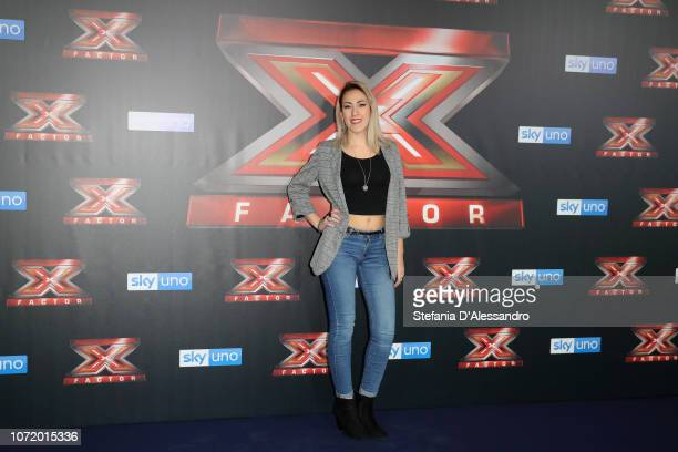 Naomi attends X Factor 2018 Photocall on December 12 2018 in Milan Italy