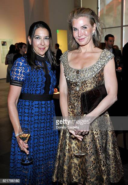 Naomi Baigell and Eliza Osborne attend the LACMA 2016 Collectors Committee Gala on April 16, 2016 in Los Angeles, California.