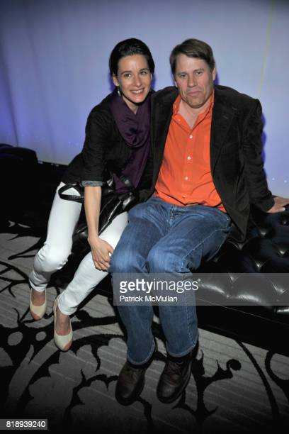 Naomi Blackwood and Patrick Graham attend PATTI SMITH Live in Concert A Benefit for The American Folk Art Museum at Espace on May 15 2010 in New York...