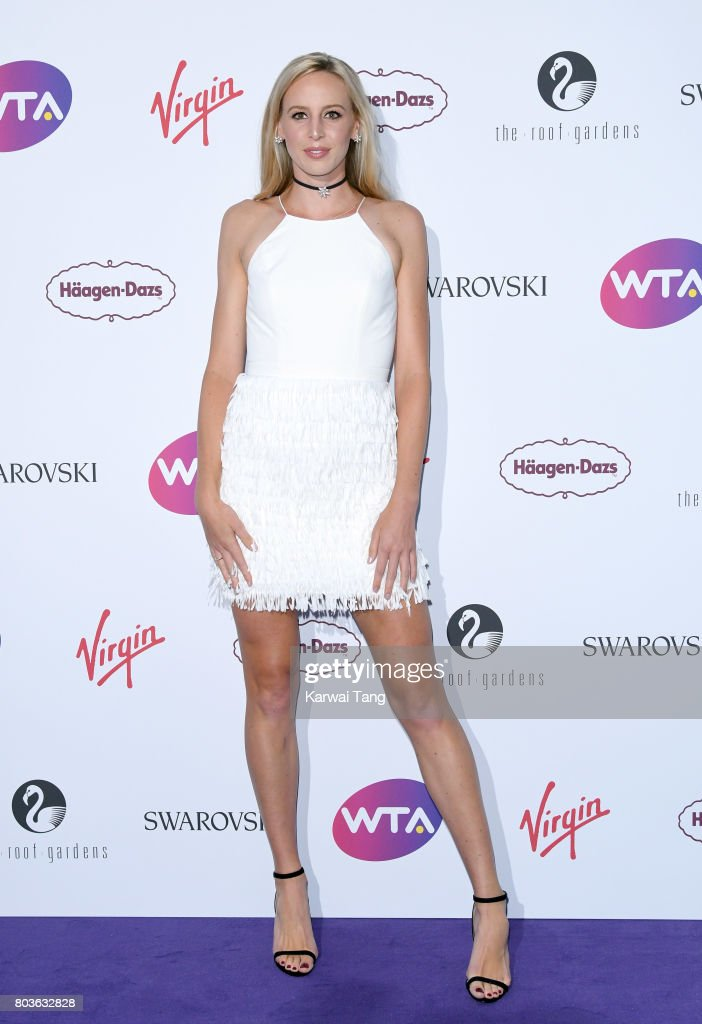 Naomi Broady attends the WTA Pre-Wimbledon party at Kensington Roof Gardens on June 29, 2017 in London, England.