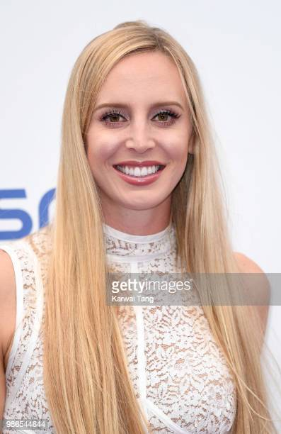 Naomi Broady attends the WTA's 'Tennis On The Thames' evening reception at Bernie Spain Gardens South Bank on June 28 2018 in London England