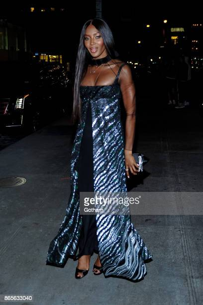 Naomi Campball attends V Magazine honors Karl Lagerfeld event at The Top of The Standard on October 23 2017 in New York City