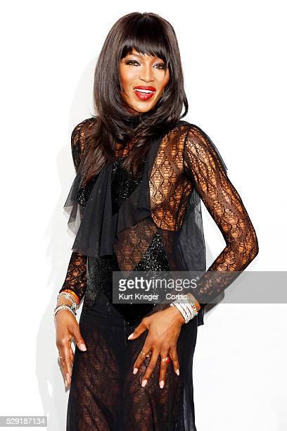 Naomi Campbell amfARs Milan Fashion Week Gala Milan Italy September 26 2015 ��Kurt Krieger