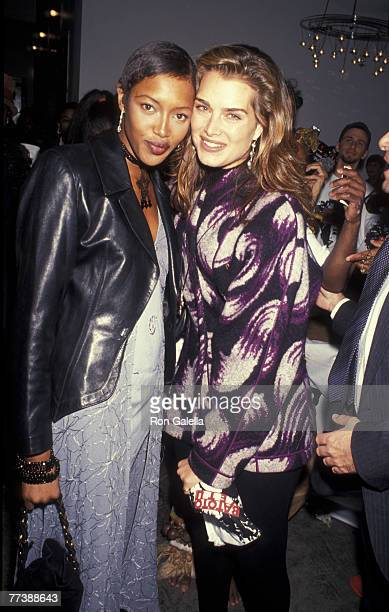 Naomi Campbell and Brooke Shields