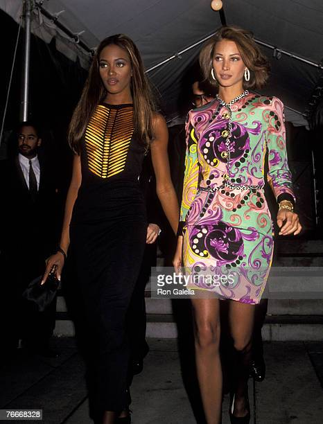 Naomi Campbell and Christy Turlington
