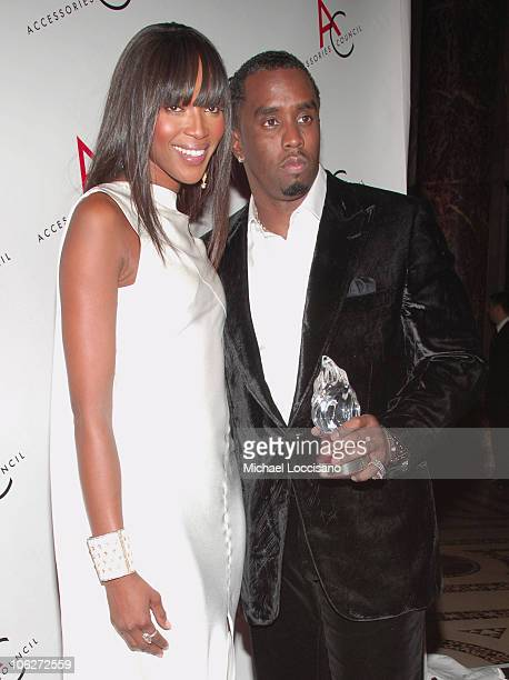 """Naomi Campbell and Sean """"Diddy"""" Combs, Fashion Influencer Winner"""