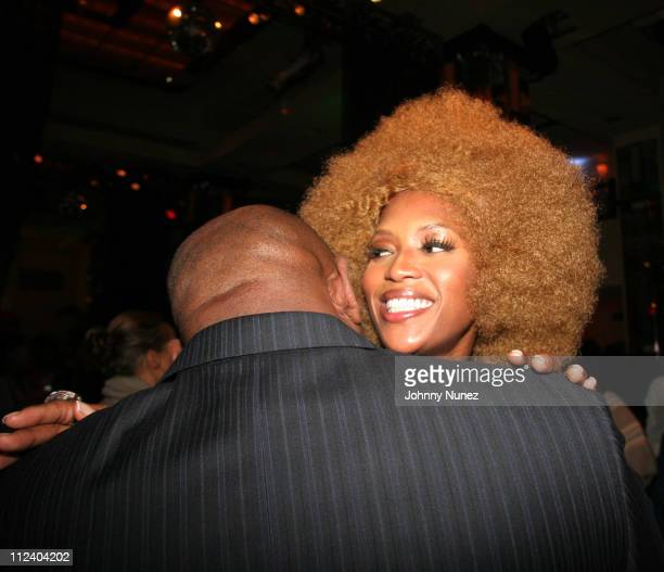 Naomi Campbell and Steve Stoute during Naomi Campbell Hosts Fete for Iman at Cipriani at 23rd St in New York