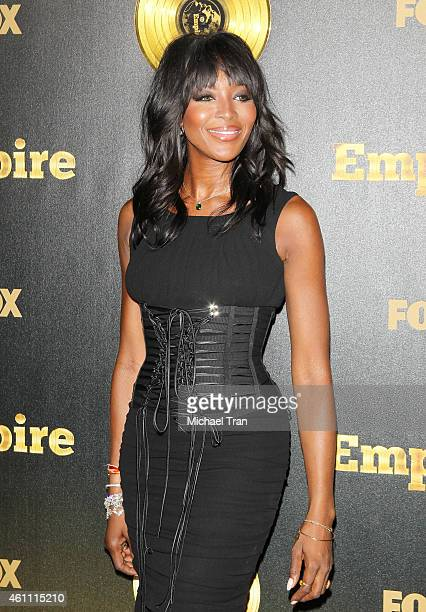 Naomi Campbell arrives at the Los Angeles premiere of 'Empire' held at ArcLight Cinemas Cinerama Dome on January 6 2015 in Hollywood California