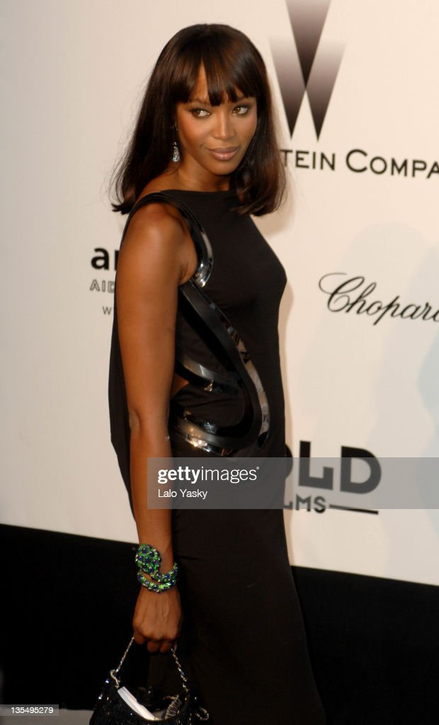 Naomi Campbell at amfAR's Cinema Against AIDS event, presented by Bold Films, the M•A•C AIDS Fund and The Weinstein Company to benefit amfAR
