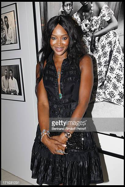 Naomi Campbell at Every Journey Began In Africa Party For The Exhibition Africa Rising And The Discovery Of The Collaboration Between Edun And Louis...