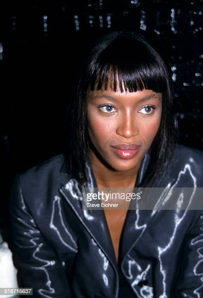 Naomi Campbell at Marc Jacobs Fashion Show at State Armory New York November 3 1997
