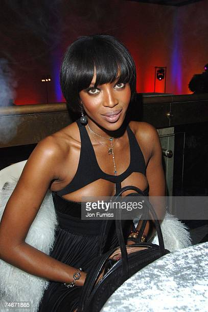 Naomi Campbell at the Hayward Gallery in London United Kingdom