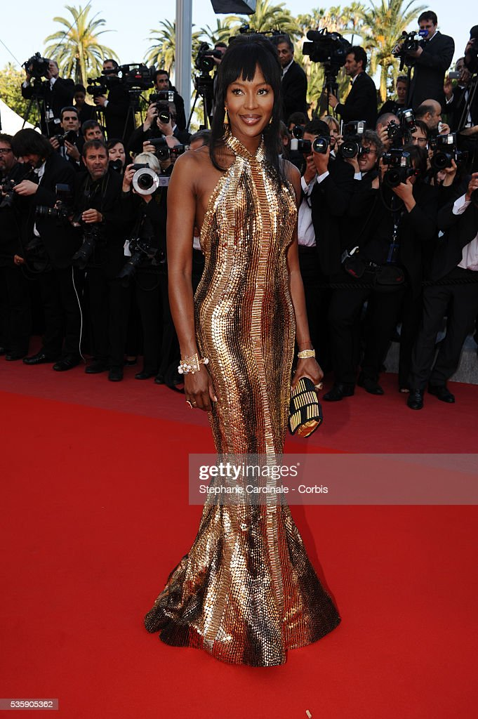 Naomi Campbell at the Premiere for 'Biutiful' during the 63rd Cannes International Film Festival.