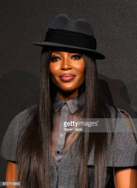 Naomi Campbell attends 2018 Pirelli Calendar launch press conference at The Pierre Hotel on November 10 2017 in New York City