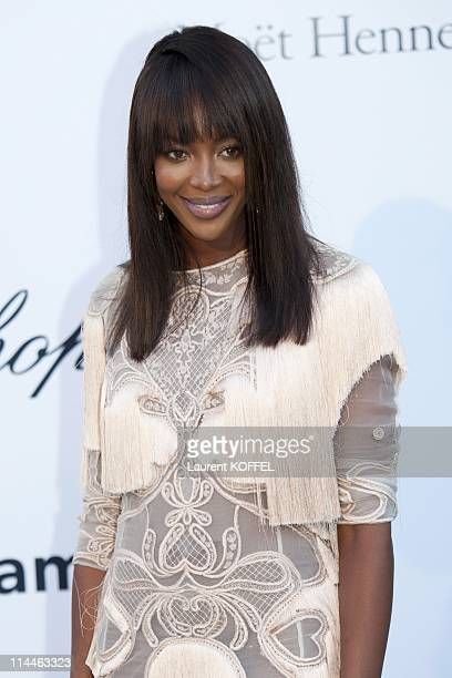 Naomi Campbell attends amfAR's Cinema Against AIDS Gala during the 64th Annual Cannes Film Festival at Hotel Du Cap on May 19 2011 in Antibes France