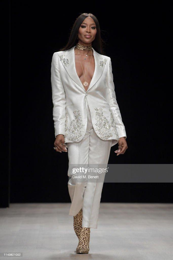 NGA: Naomi Campbell At Arise Fashion Week In Lagos, Nigeria - Day One