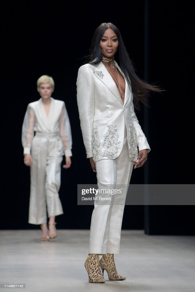 Naomi Campbell At Arise Fashion Week In Lagos, Nigeria - Day One : News Photo