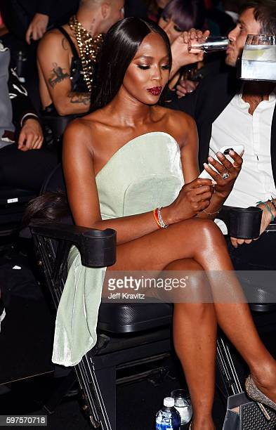 Naomi Campbell attends during the 2016 MTV Video Music Awards at Madison Square Garden on August 28 2016 in New York City