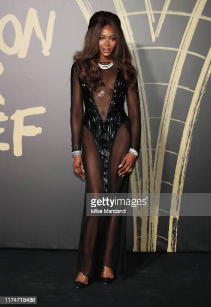 Naomi Campbell attends Fashion For Relief London 2019 at The British Museum on September 14 2019 in London England